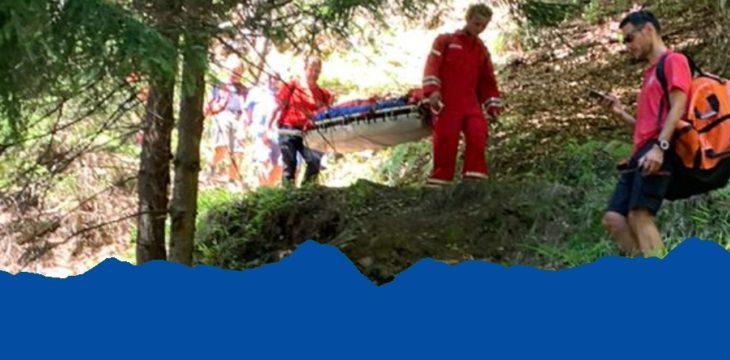 21.07.2020 – Sturz beim Abstieg vom Mutkopf
