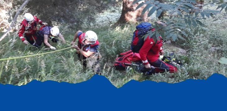 06.08.2020 – Abgestürzte Person am Taser Höhenweg